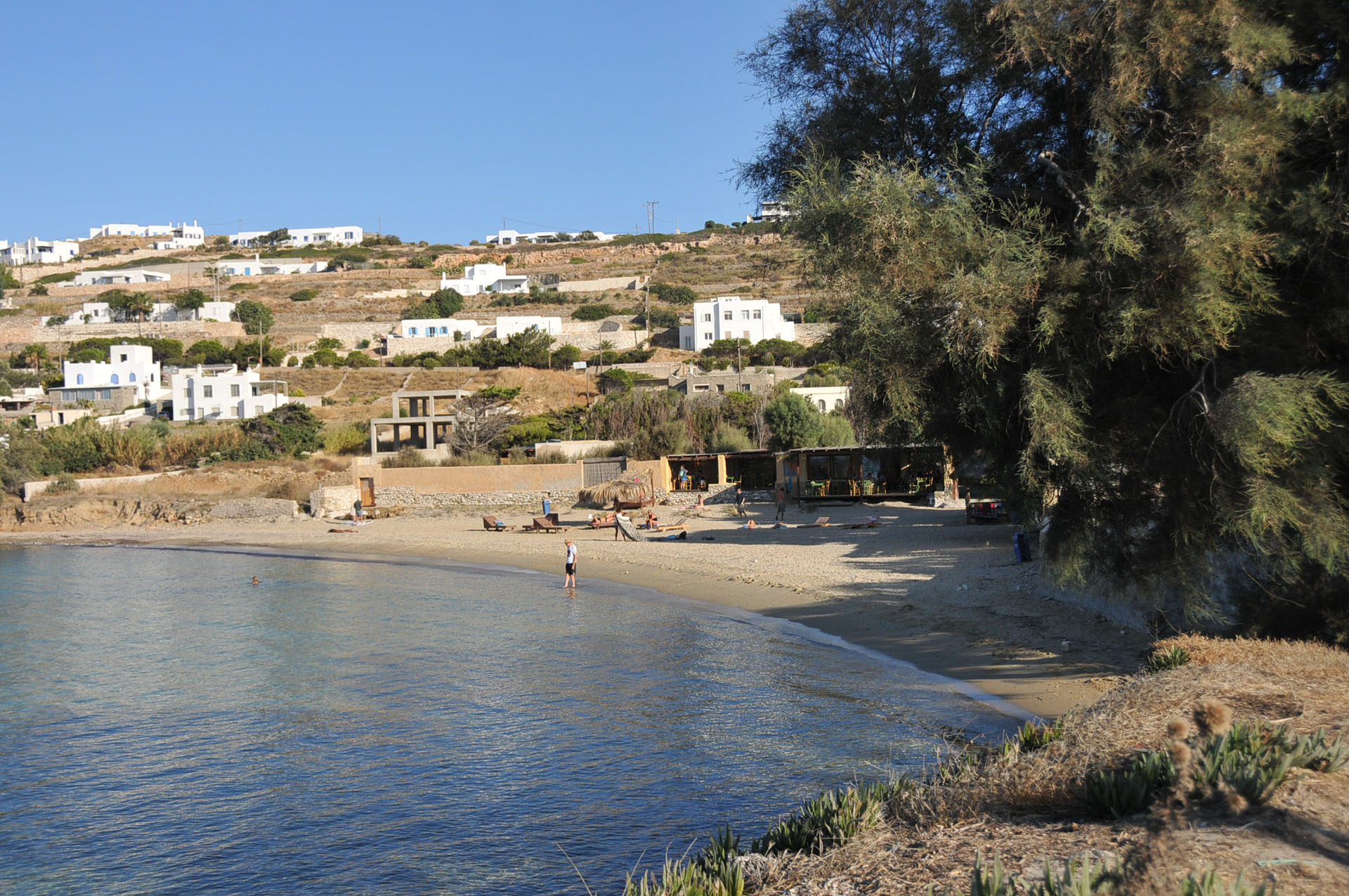 Delfini beach Paros